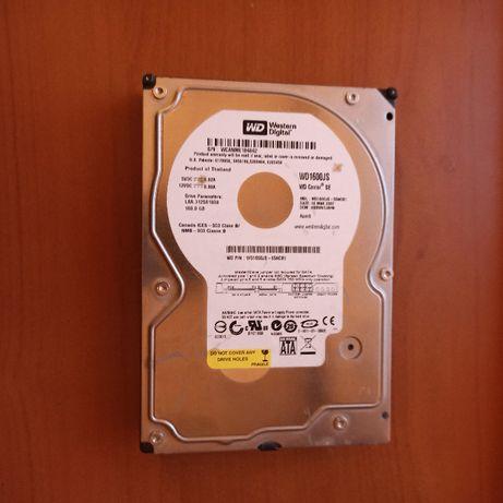 Жесткий диск HDD WD1600JS-55NCB 160Gb SATA 3,5