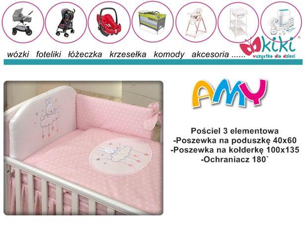 Pościel 3 części dla dziecka Amy 100/135