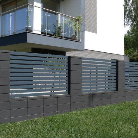 Bloczek ogrodzeniowy - Bloczki ogrodzeniowe 50x20x20cm - Różne kolory