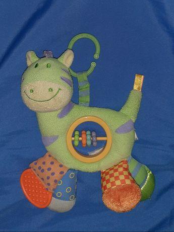 Забавная подвеска лошадка/развивашка/грызунок фирмы Bruin
