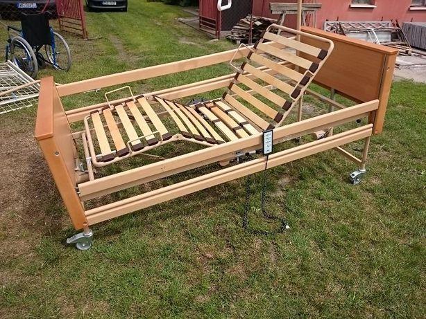 bardzo ładne, zgrabne łóżko rehabilitacyjne składane