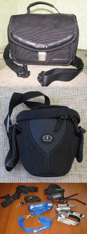 Фотосумки Sony Handycam, Tamrac Aero 3320 Black, ремешки