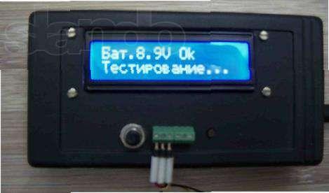 Тестер полупроводниковых элементов