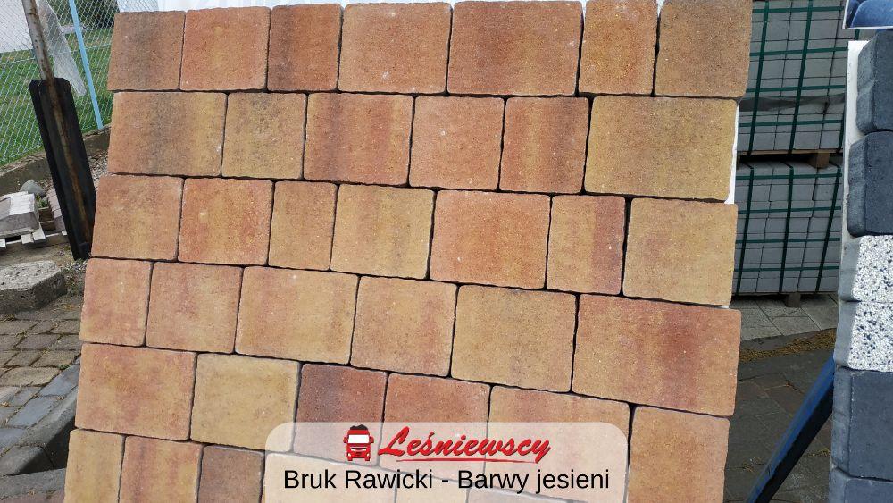 Kostka brukowa Bruk Rawicki - BARWY JESIENI na podjazd ZPB Kaczmarek