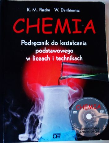 Chemia podręcznik szkoła średnia + płyta