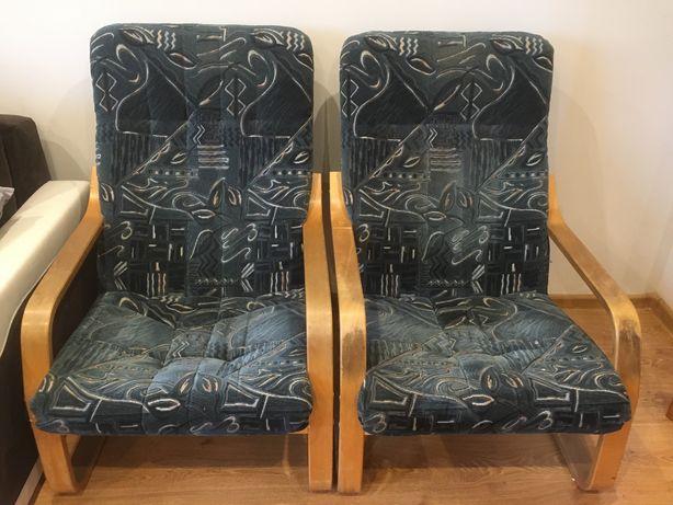 Fotele finki welurowe