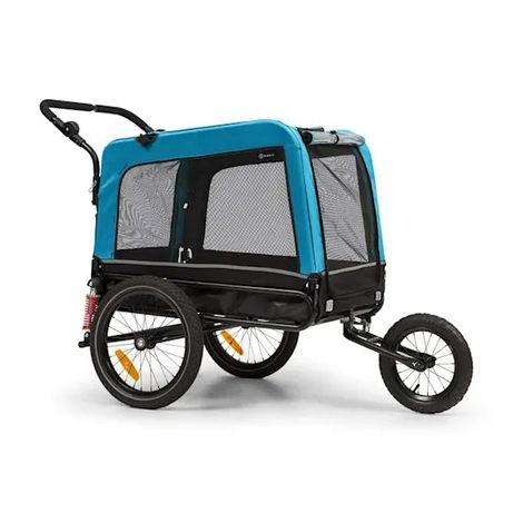 Husky Vario, rowerowa przyczepka do przewozu psów/wózek dla psów 2 w 1