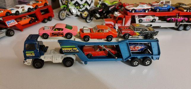 Игрушки matchbox transporter courier