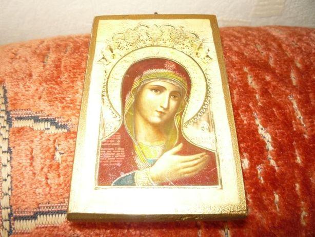 Wizerunek Matki Boskiej - Drzeworyt