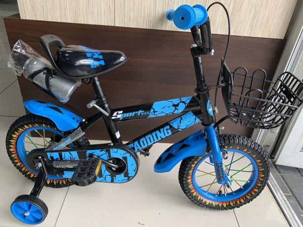 HIT Rowerek dziecięcy BEZPIECZNY rower dla dziewczynki BMX 12cali