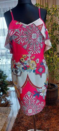 Sukienka letnia , rózowa