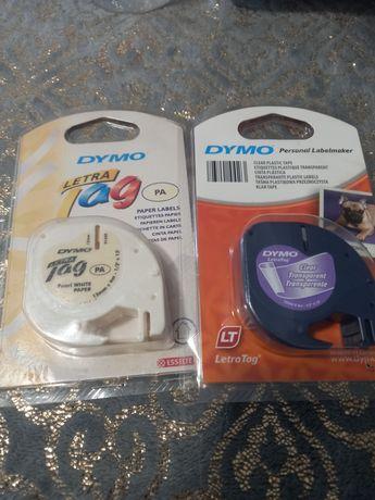 Dymo tag 12 mm×4m trasparente e pérola de papel(preço por cada um)