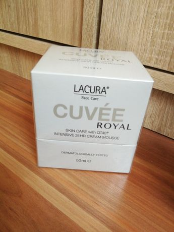 Lacura cuvee royal cream mousse