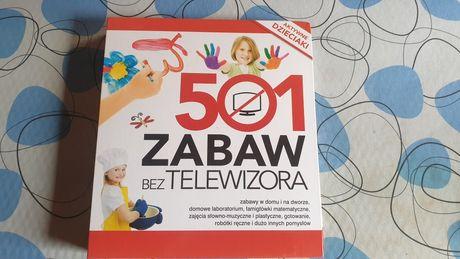 501 zabaw bez telewizora książka edukacyjna