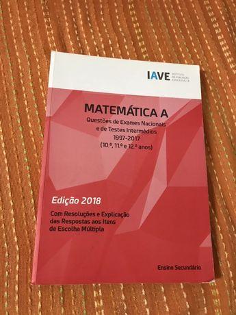 Livro exames Matematica A IAVE