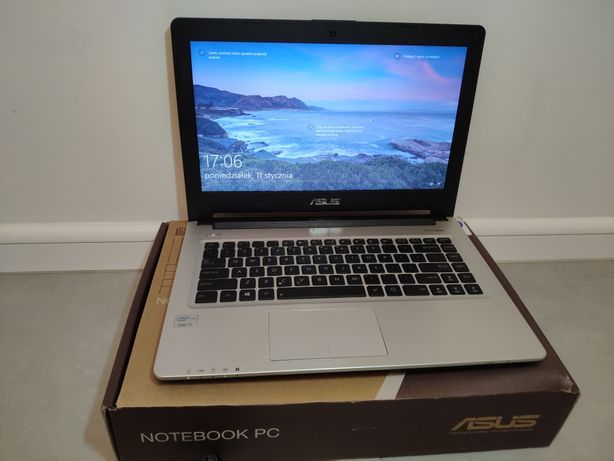 Laptop ASUS S46CA-WX074H i3-3217U/4GB/500/Win10