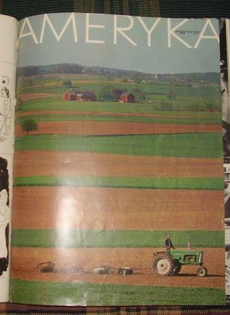 Czasopismo Ameryka nr. 76,78,82,88 i czerwiec 1967