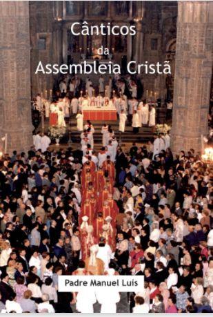 Livro cânticos da assembleia cristã - partituras