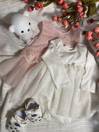 Платье для малышки 0-6