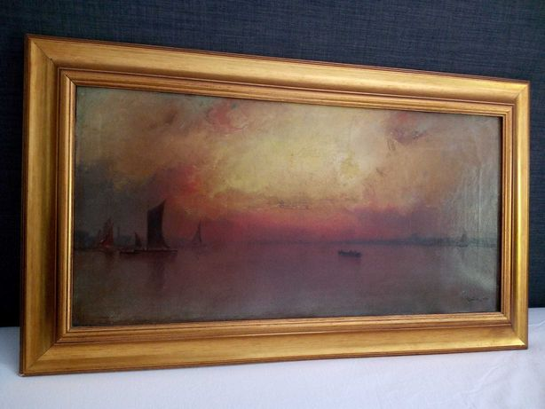 Pintura a óleo Cecil King