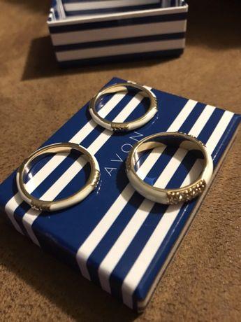3 pierścionki AVON