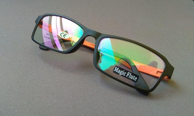 Modne kolorowe oprawki okularowe