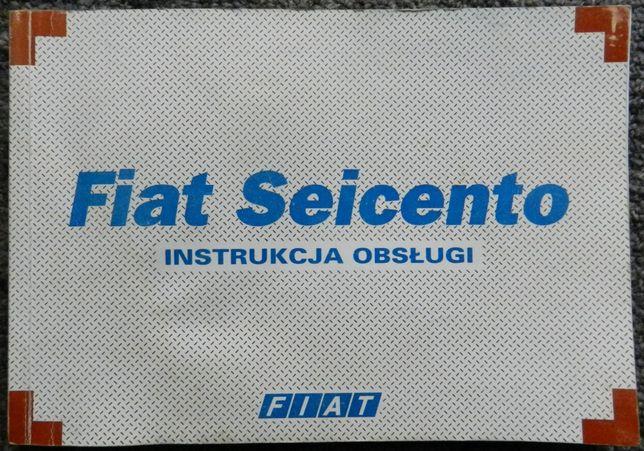 Fiat Seicento - książka instrukcja obsługi samochodu