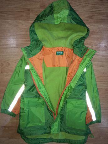 Куртка на флисе 3 года курточка