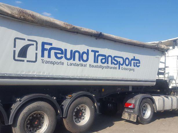 usługi transportowe, busy wynajem, wywrotki, transport ciężarowy
