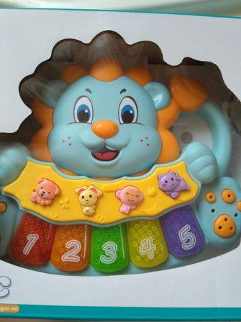 Jialegu Toys: Игрушка развивающая Музыкальный львёнок