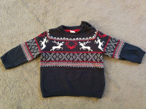 Sweter HM rozm. 74