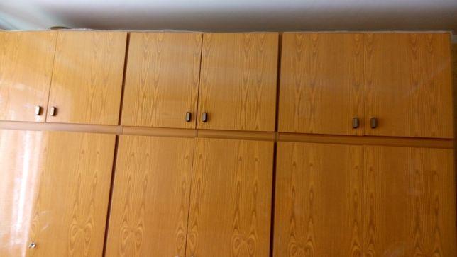 3 шкафа с антресолями