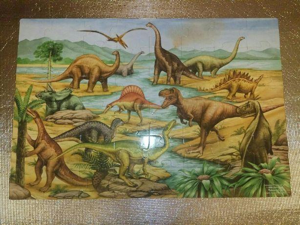 Напольный пазл гигант/великан динозавры Melissa and Doug