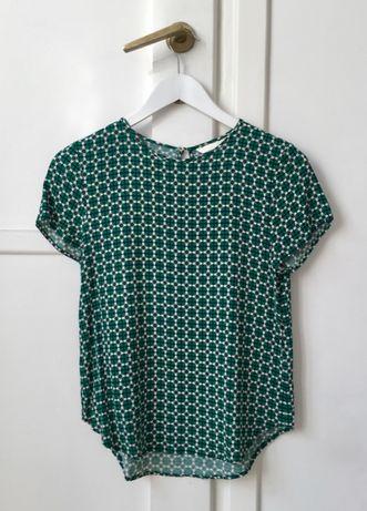 H&M Bluzka z krótkim rękawem, rozm. 34/XS