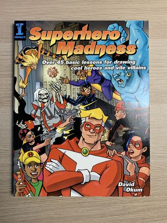 Superhero Madness David Okum Ksiazka Komiks Marvel DC