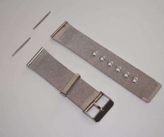 Bracelete 20mm Malha-Stainless Stell- Nova-Oferta porte