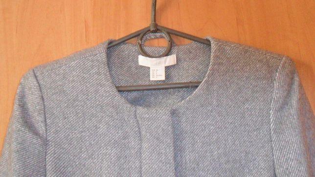 Пальто бренд H&M шерсть р 44