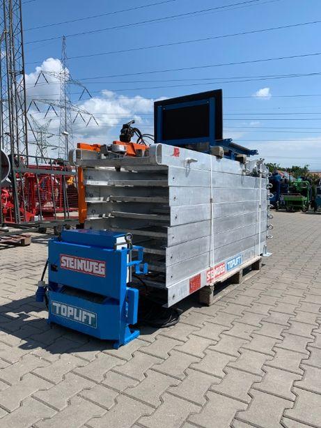 Winda drabina dekarska podnośnik budowlany STEINWEG TOPLIFT 16m 230V