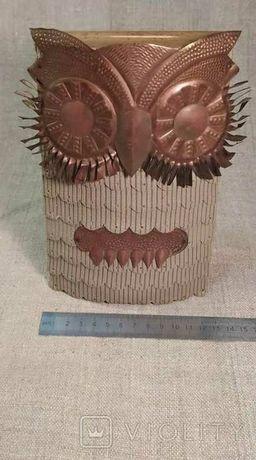 Копилка-сова из СССР