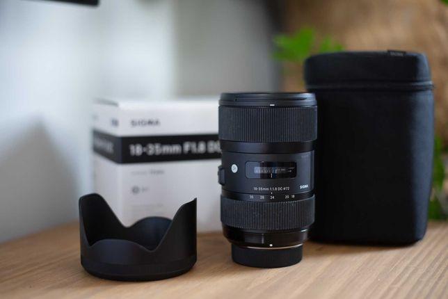 Sigma 18-35 mm ART F 1.8 DC Nikon