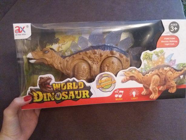 Nowa.Zabawka stegosaurus za 30 zł