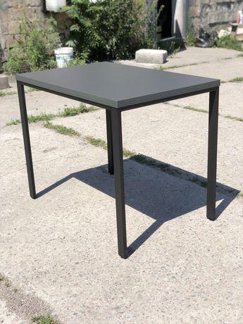 Стол обеденный черный 1000*650*750 Бесплатная доставка!