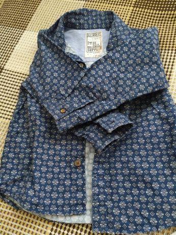 Next Рубашка для мальчика р.86 12-18 мес. Состояние идеальное