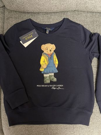Polo ralph lauren реглан с медведем