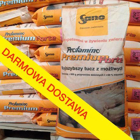 Sano Protamino Premium Forte ® 25kg koncentrat tucznik, pasza dla świń