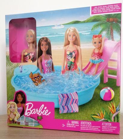 Barbie basen zestaw z lalką NOWY