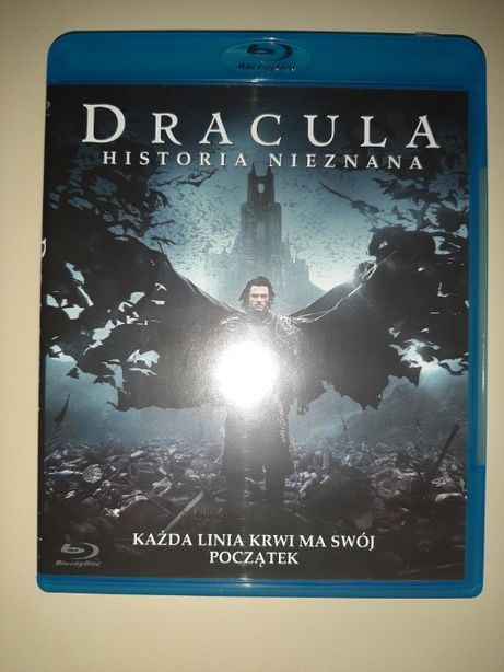 Film Blu-Ray Dracula Historia Nieznana