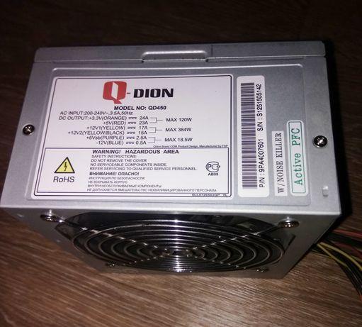 Блок питания 450W Qdion QD450