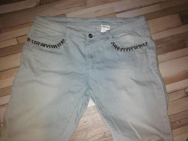 Spodnie Jeansy z kamykami Bodyflirt r 46 BPC