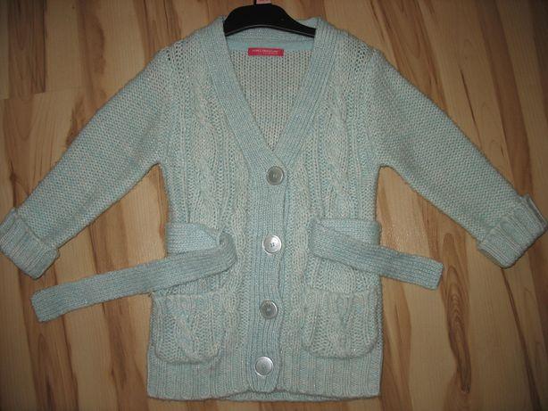 Sweter, sweterek dla dziewczynki roz. 110